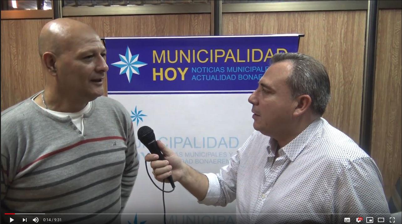Secretario de Merlo Jose Luis Nuñez